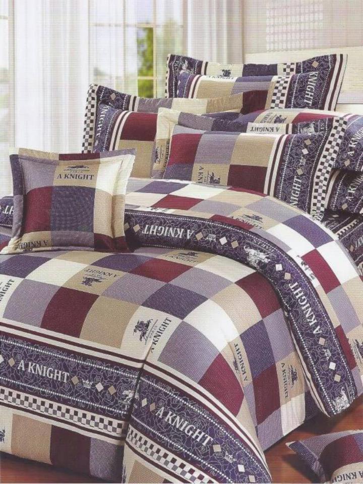 台灣製雙人五件式純棉床罩組